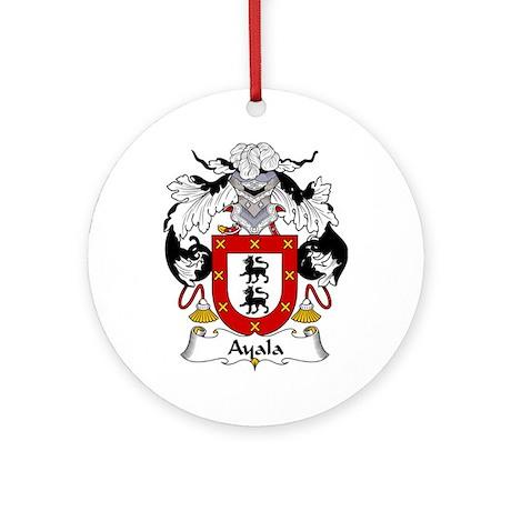 Ayala Ornament (Round)