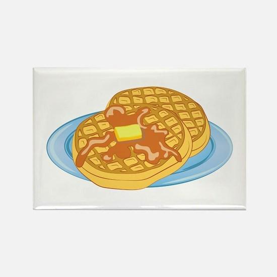 Waffles Magnets