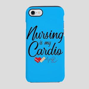 Nursing Is My Cardio iPhone 8/7 Tough Case