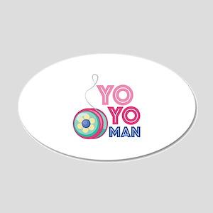 Yo Yo Man Wall Decal