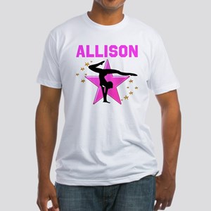 GYMNAST FOREVER Fitted T-Shirt