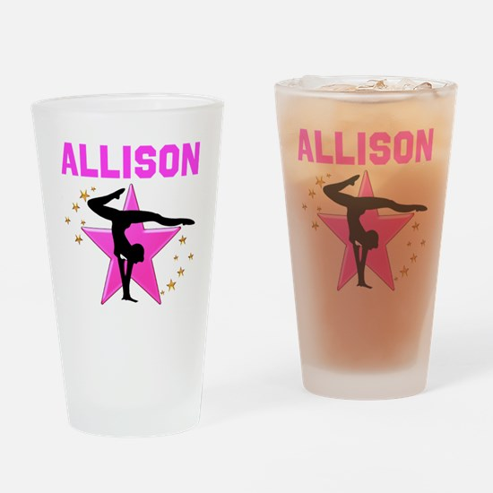 GYMNAST FOREVER Drinking Glass