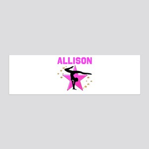 GYMNAST FOREVER 36x11 Wall Decal