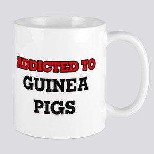 Addicted to Guinea Pigs Mugs