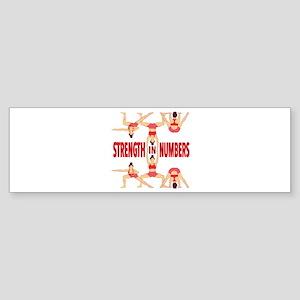 Strength In Numbers Bumper Sticker