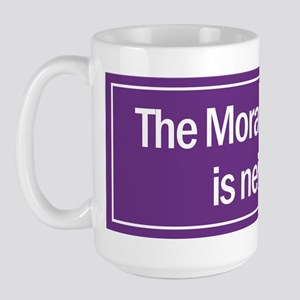 Large Coffee Mug. The Moral Majority is neither