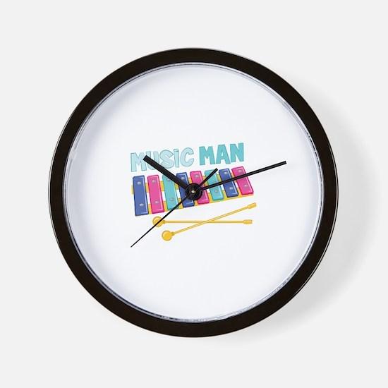 Music Man Wall Clock