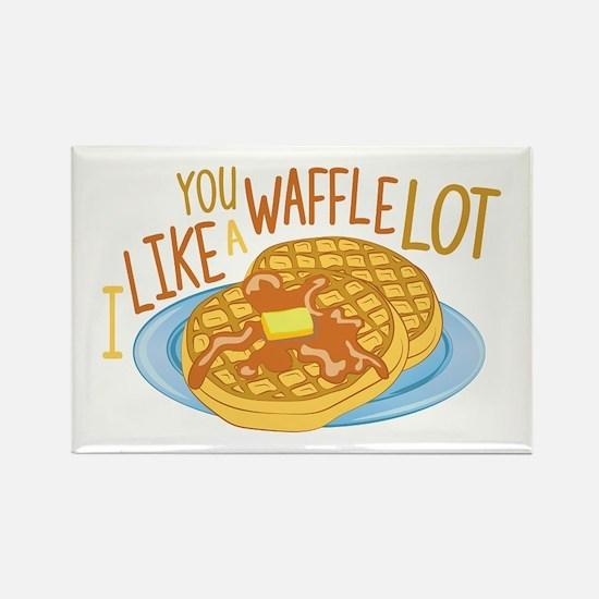 A Waffle Lot Magnets