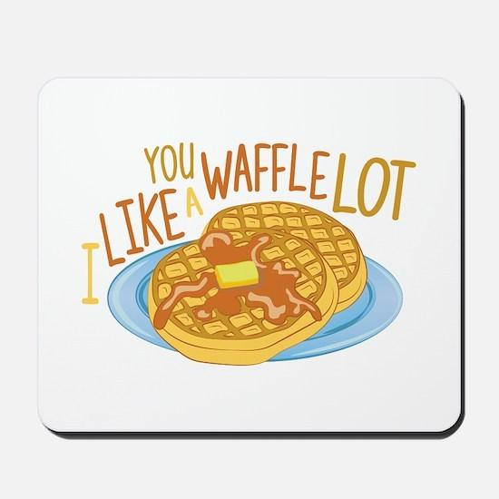 A Waffle Lot Mousepad