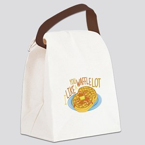 A Waffle Lot Canvas Lunch Bag