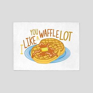 A Waffle Lot 5'x7'Area Rug