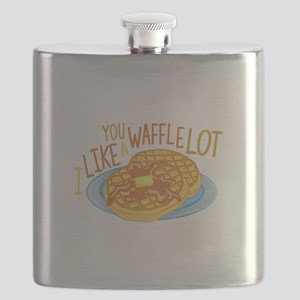 A Waffle Lot Flask