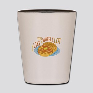 A Waffle Lot Shot Glass