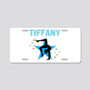 GYMNAST GIRL Aluminum License Plate