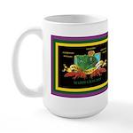 Krewe of Ponchartrain Large Mug