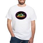 Krewe of Ponchartrain White T-Shirt