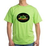 Krewe of Ponchartrain Green T-Shirt