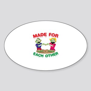 Made For Each Other Sticker