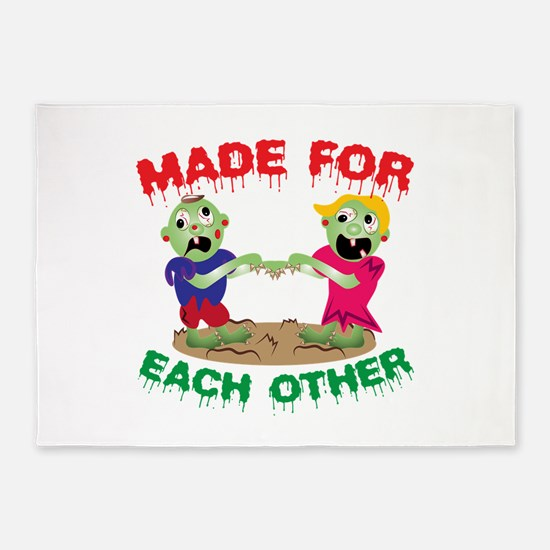 Made For Each Other 5'x7'Area Rug