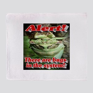 Alert! There are bugs in the system! Throw Blanket