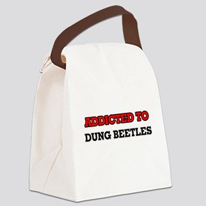 Addicted to Dung Beetles Canvas Lunch Bag