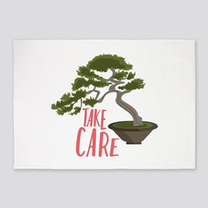 Take Care 5'x7'Area Rug