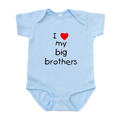 I love big brothers Infant Bodysuit