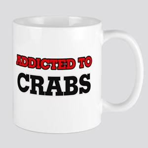 Addicted to Crabs Mugs