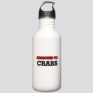 Addicted to Crabs Stainless Water Bottle 1.0L