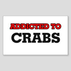 Addicted to Crabs Sticker