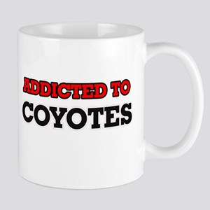 Addicted to Coyotes Mugs