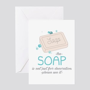 The Soap Greeting Cards