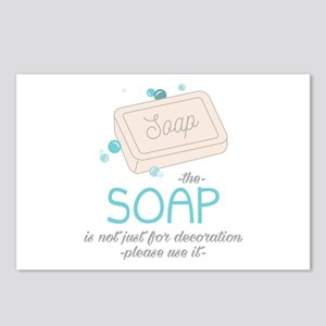 The Soap Postcards (Package of 8)