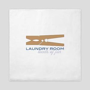 Laundry Room Queen Duvet