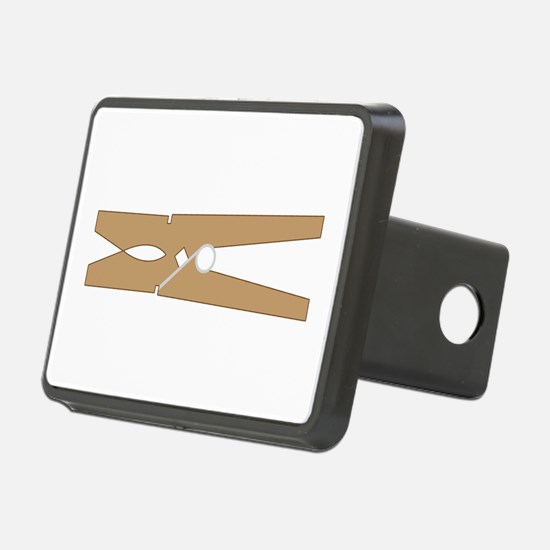 Clothespin Hitch Cover