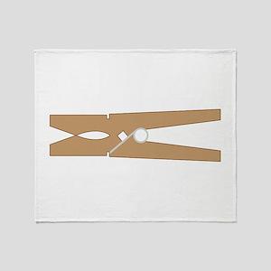 Clothespin Throw Blanket