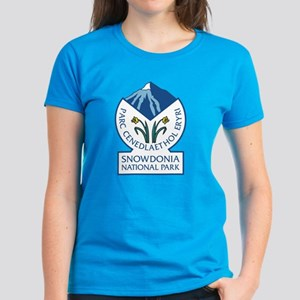 Snowdonia National Park, Wale Women's Dark T-Shirt