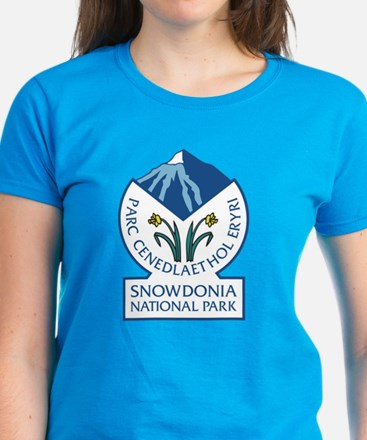 Snowdonia National Park, Wale Women's Dark T-Shirt