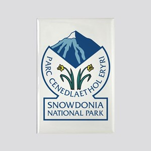 Snowdonia National Park, Wales, U Rectangle Magnet