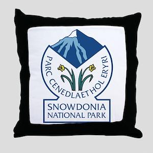 Snowdonia National Park, Wales, UK Throw Pillow