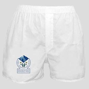 Snowdonia National Park, Wales, UK Boxer Shorts