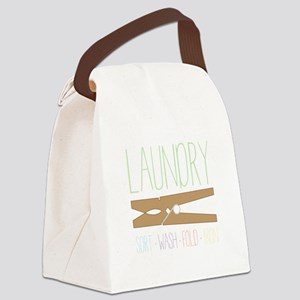 Sort Wash Fold Canvas Lunch Bag