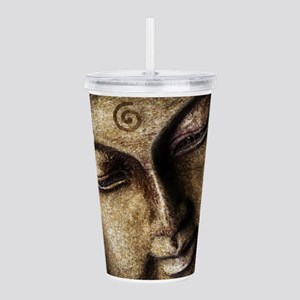 The Peaceful Face Of B Acrylic Double-wall Tumbler