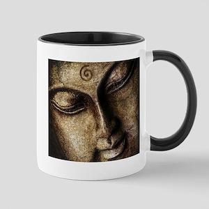 The Peaceful Face Of Buddha Mugs