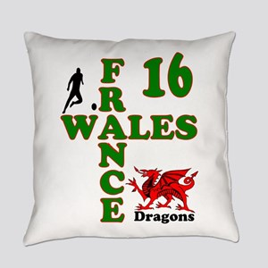 Wales France Dragons 16 Everyday Pillow