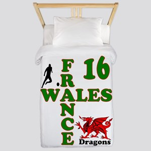 Wales France Dragons 16 Twin Duvet