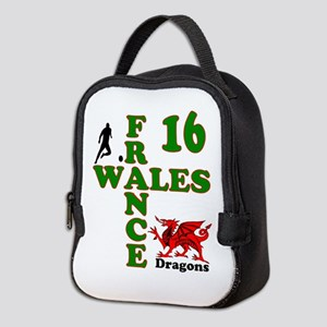 Wales France Dragons 16 Neoprene Lunch Bag