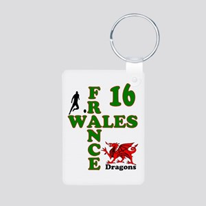 Wales France Dragons 16 Keychains