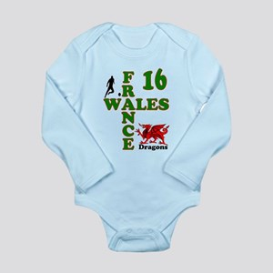 Wales France Dragons 16 Body Suit