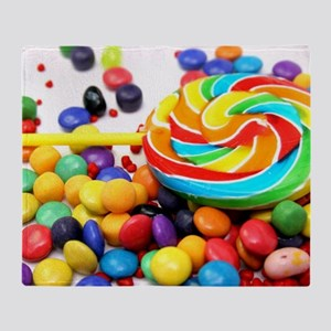 Candies Throw Blanket